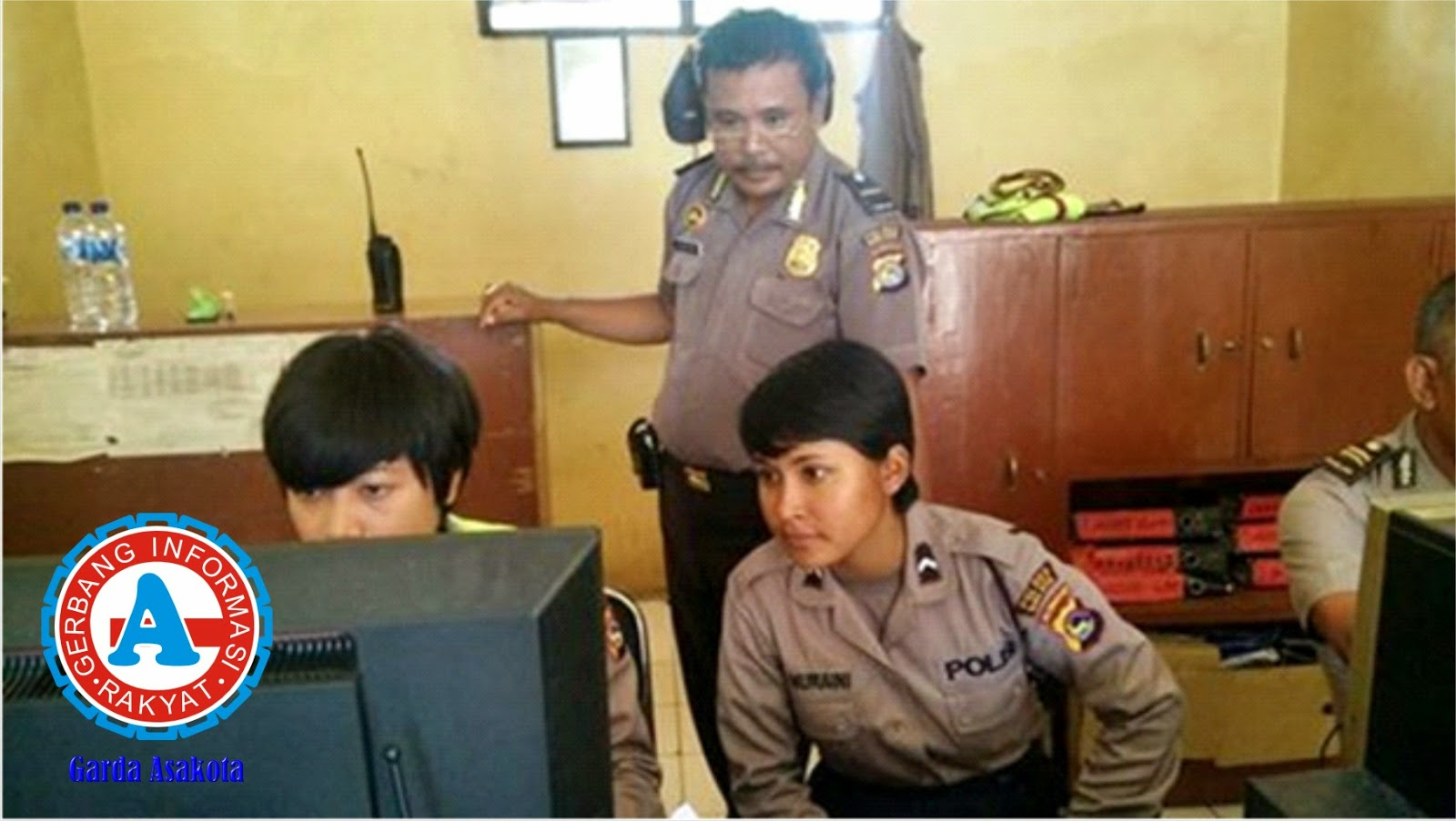 Redaksi Garda Asakota Dibobol Kawanan Pencuri, Satu Unit Motor Raib