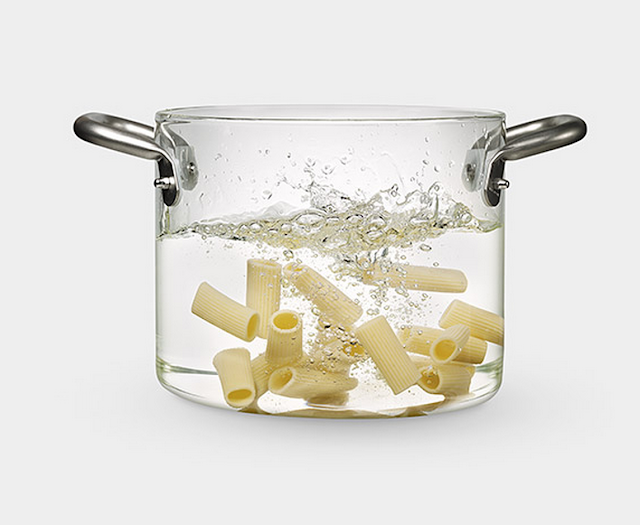 MoMA Glass Pot