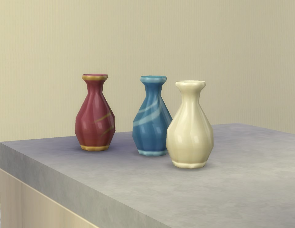 My Sims 4 Blog Vase For Garden Flowers By Plasticbox
