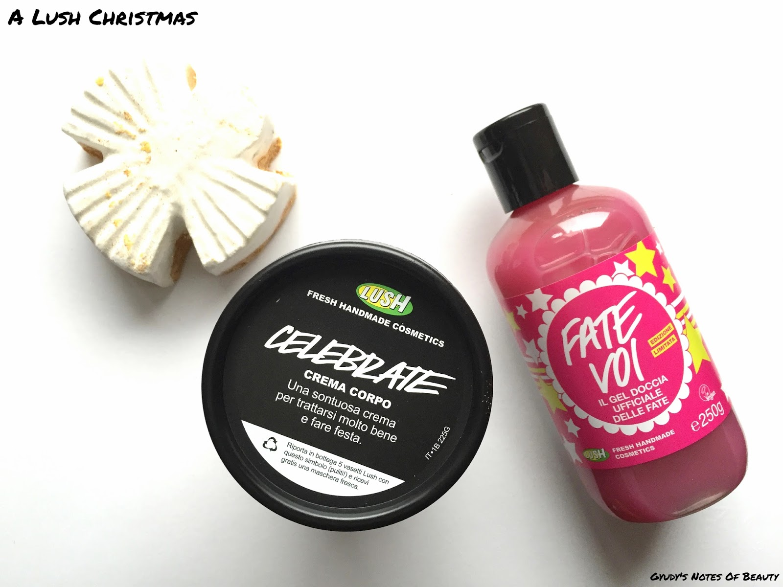 Lush Christmas Snow Fairy Celebrate Snow Angel