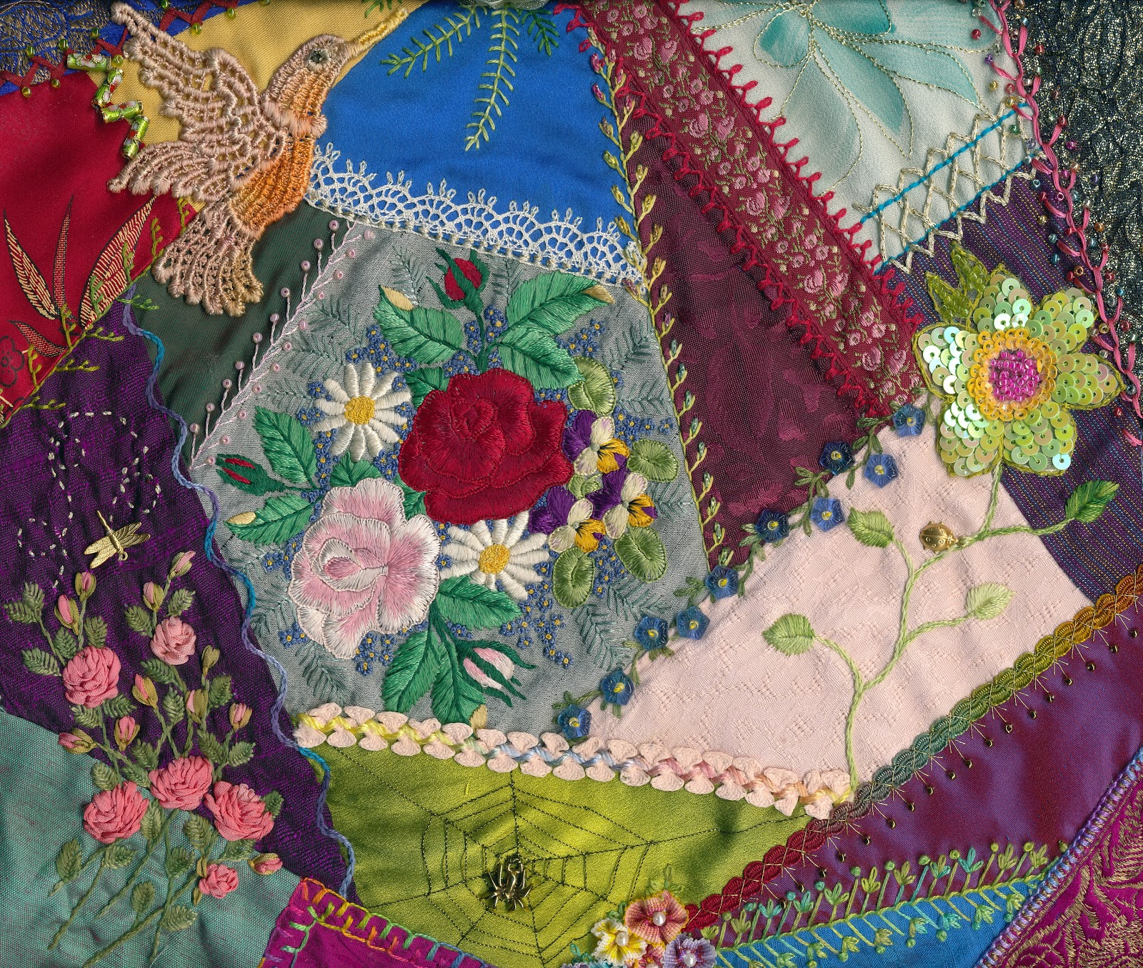 Crazy Quilt Pattern Images : anlabyhouse: New Crazy Quilt Happening