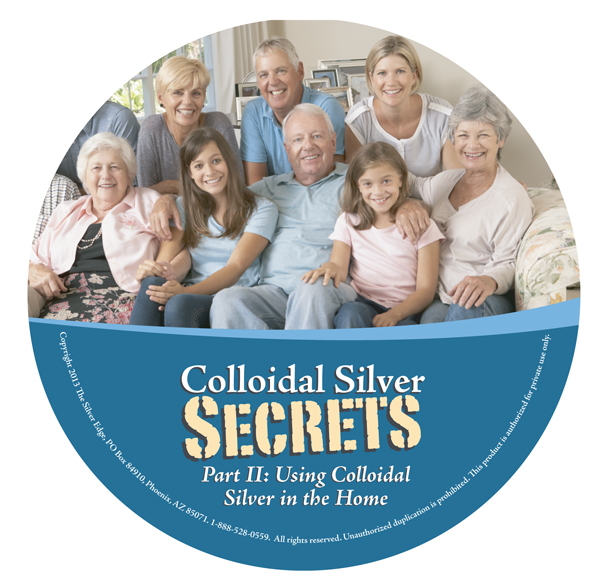Learn how to make high-quality colloidal silver for less than 36 cents a quart at www.TheSilverEdge.com
