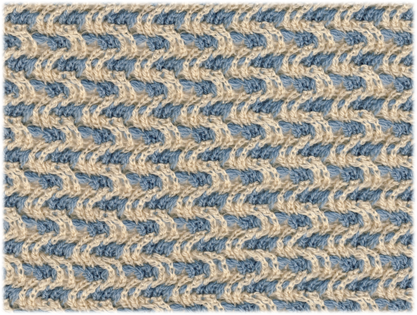 Knitting Designs In Two Colours : Knitting in the fastlane works process
