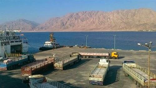 الانتهاء من أعمال تطوير ميناء نويبع والافتتاح الأحد المقبل