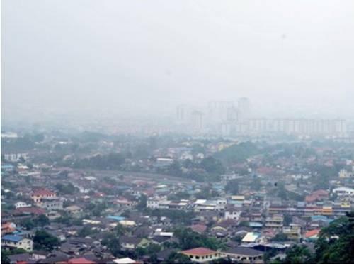 Jerebu di Muar, Johor