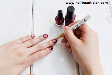 Nail Beautician How To Use Nail Art Pen