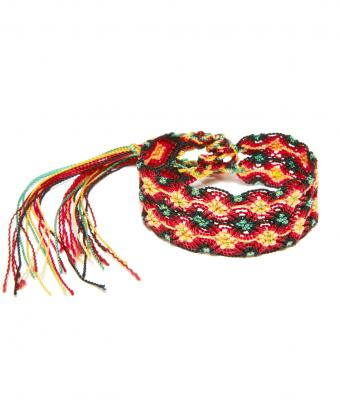 Friendship Bracelet X Pattern5