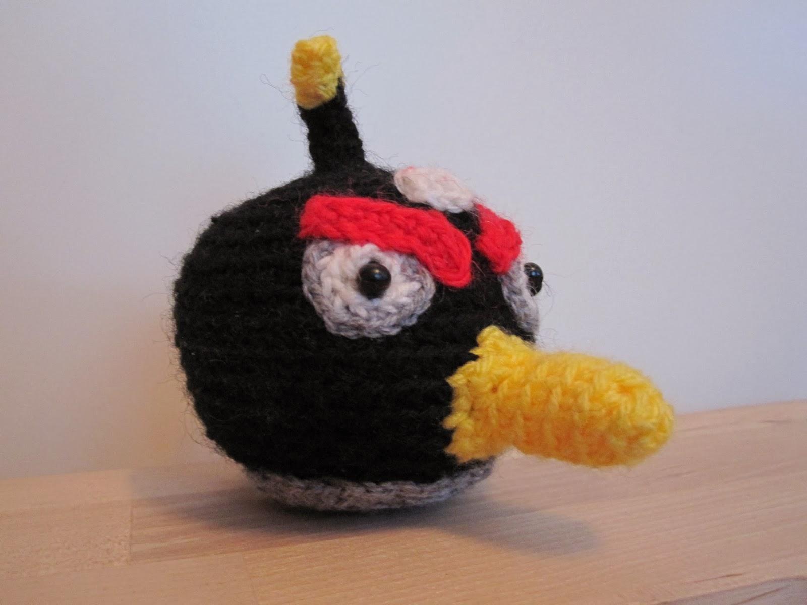 Harakan aarteet: Amigurumi Angry Birds Huumaa...!