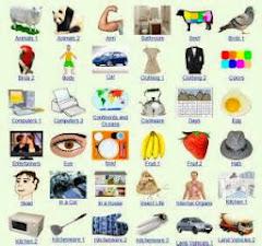 Vocabulario por temas.