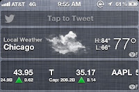To enable IOS 6 Twitter Widget