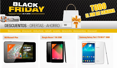 black friday pc componentes 2013