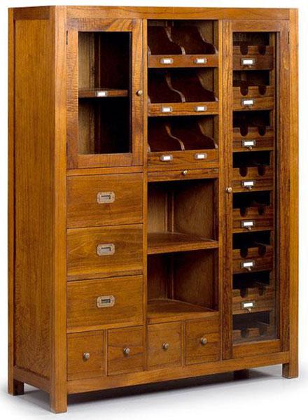 La web de la decoracion y el mueble en la red muebles botelleros - Botelleros rusticos ...