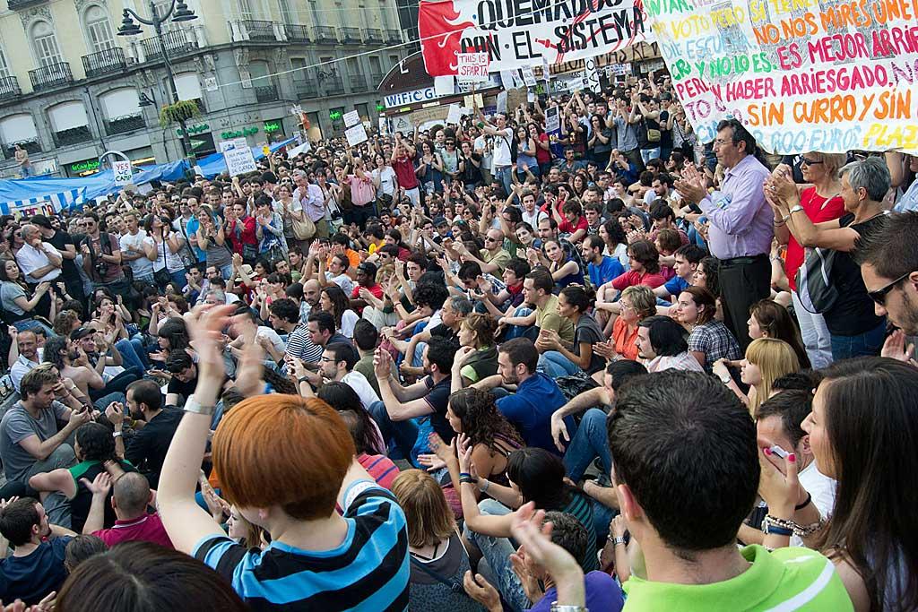 El correo de escalona la revoluci n de los j venes espa oles for Puerta 7 campo de mayo