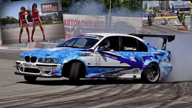 Ukrainian Drift Series/ Дрифт в Харькове part 1 2014г