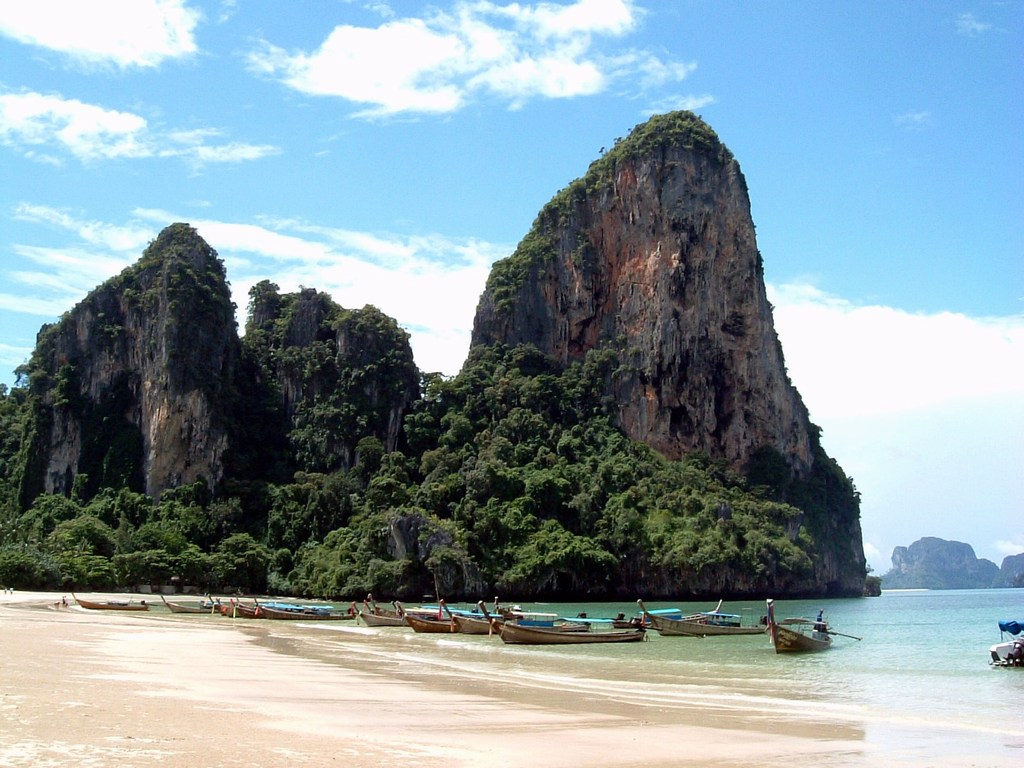 Railay Beach Thailand:Asia Tour and Travel