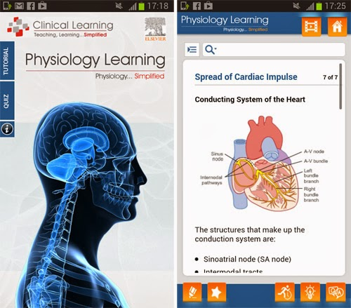 Physiology Learning app