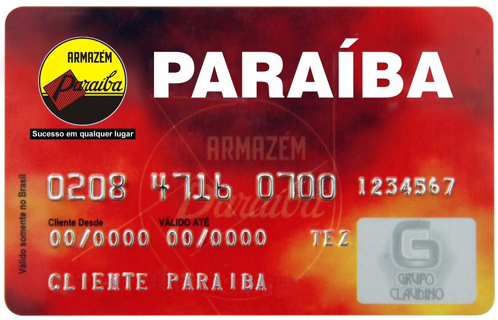 Cartão Paraíba