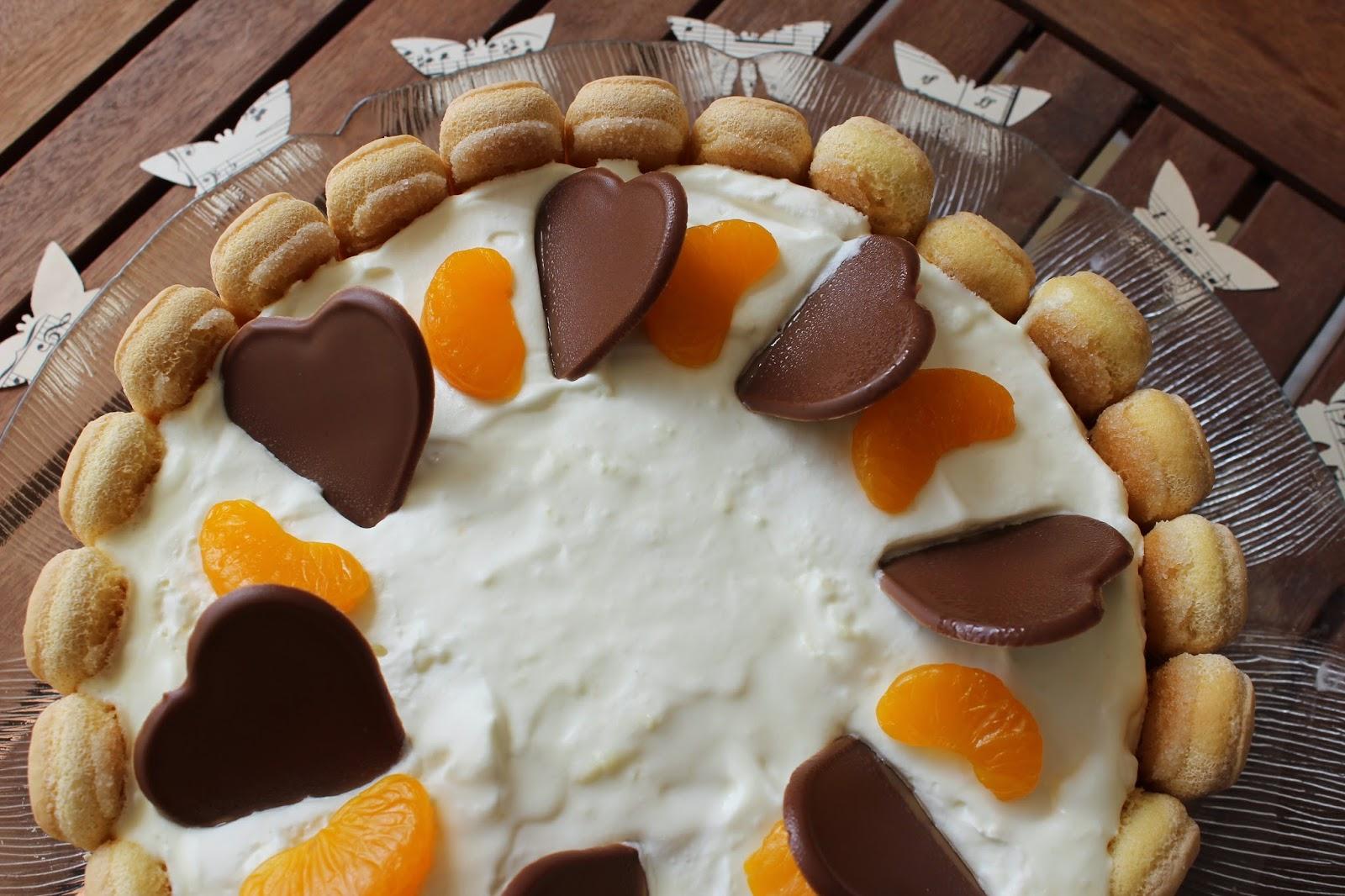 kuchen aus dem k hlschrank mandarinen philadelphia torte. Black Bedroom Furniture Sets. Home Design Ideas