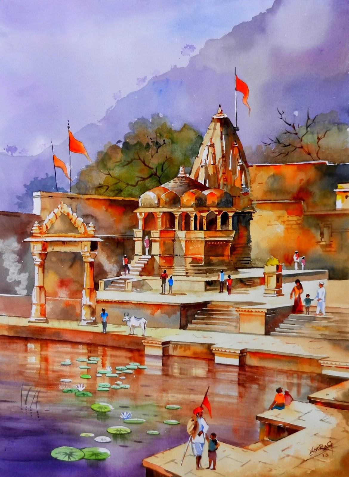 Lord Shiva Watercolour Painting by saintvinod on DeviantArt