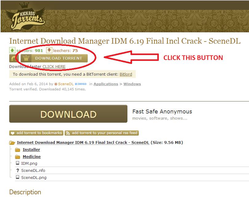 torrent download screenshot1