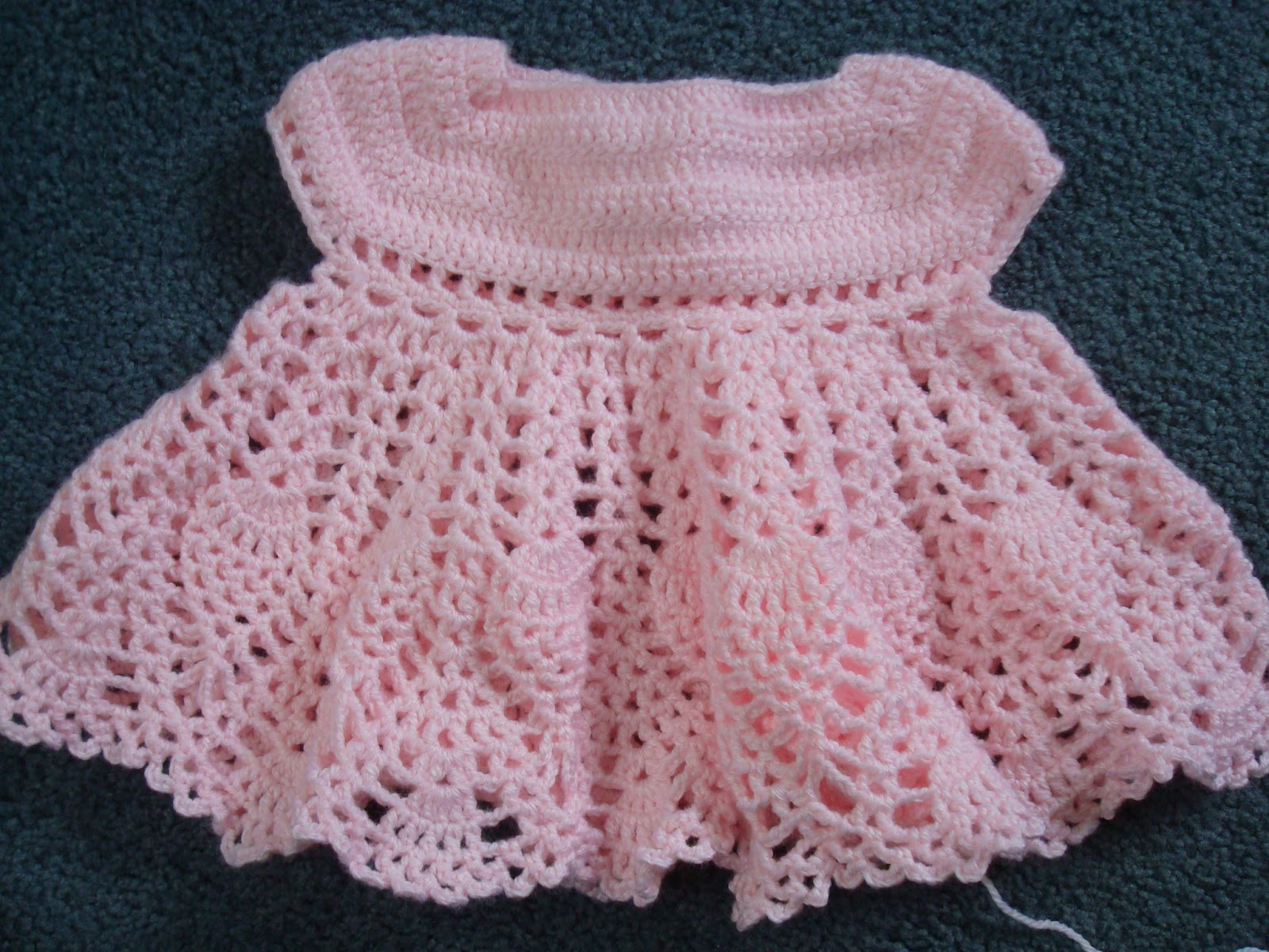 Update: Crochet Baby Dress
