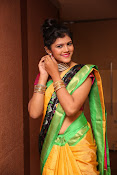 Sangeetha Kamath dazzling saree photos-thumbnail-14