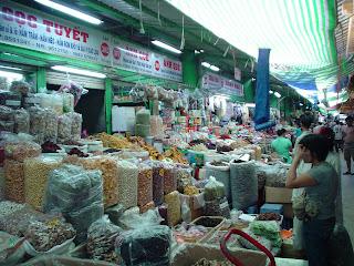 Ben Thanh Market. Ho Chi Minh. Viêt-Nam