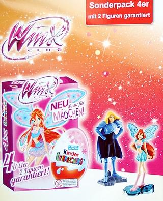 Winx Club Mini žaisliukai  kinderiuose Voketijoje Flayer_7388589473