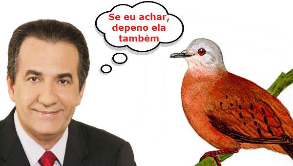 Quem sabe não será a rola que o Malafaia  procura a utopia que, segundo Lula, o PT perdeu