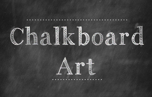 Simply Albany: Digital Chalkboard Art