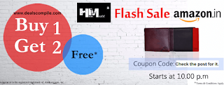 Buy 1 Get 2 on Hidemaxx wallets for Rs. 475 at Amazon