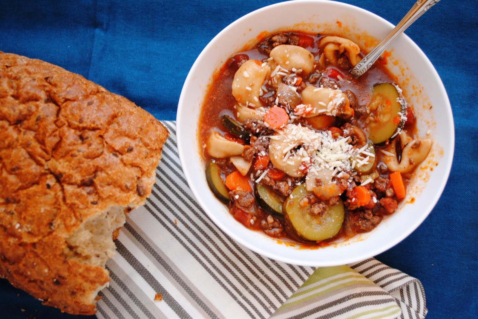 Italian Sausage Tortellini Soup | Neighborfood
