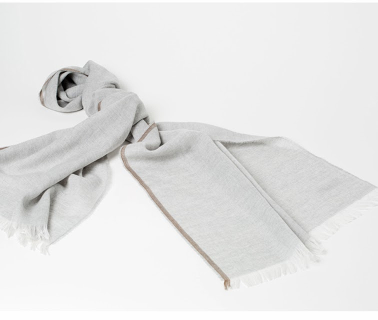 Everlane Scottish scarf