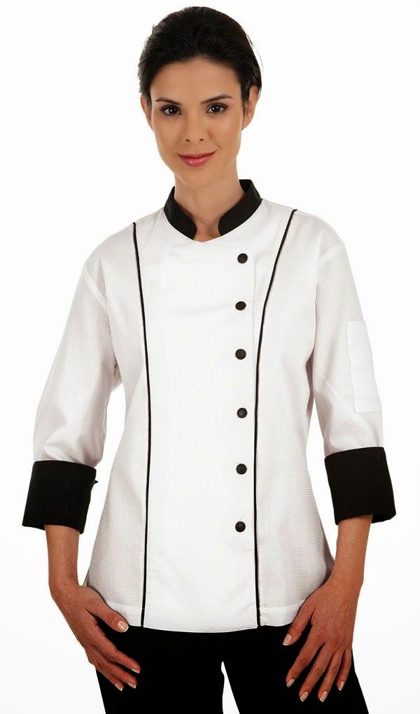 Chaquetas de chef para mujer for Chaquetas de cocina originales