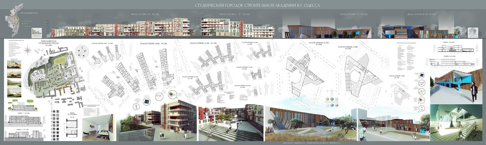 Студенческий городок дипломный проект магистра nadezhda  Студенческий городок дипломный проект магистра