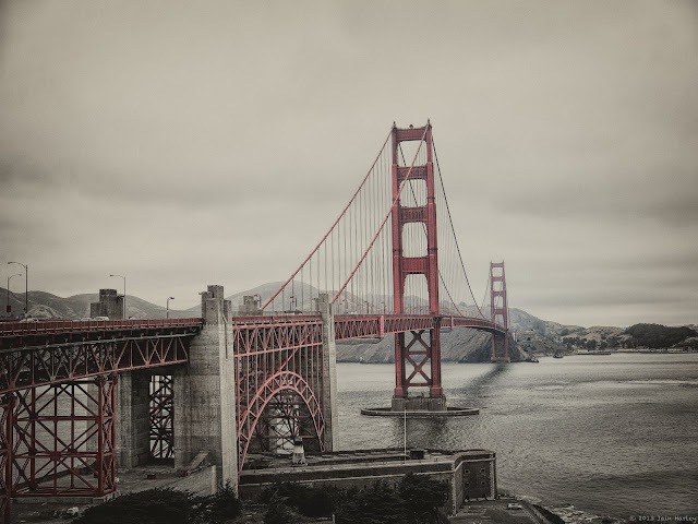 Vintage Golden Gate Bridge