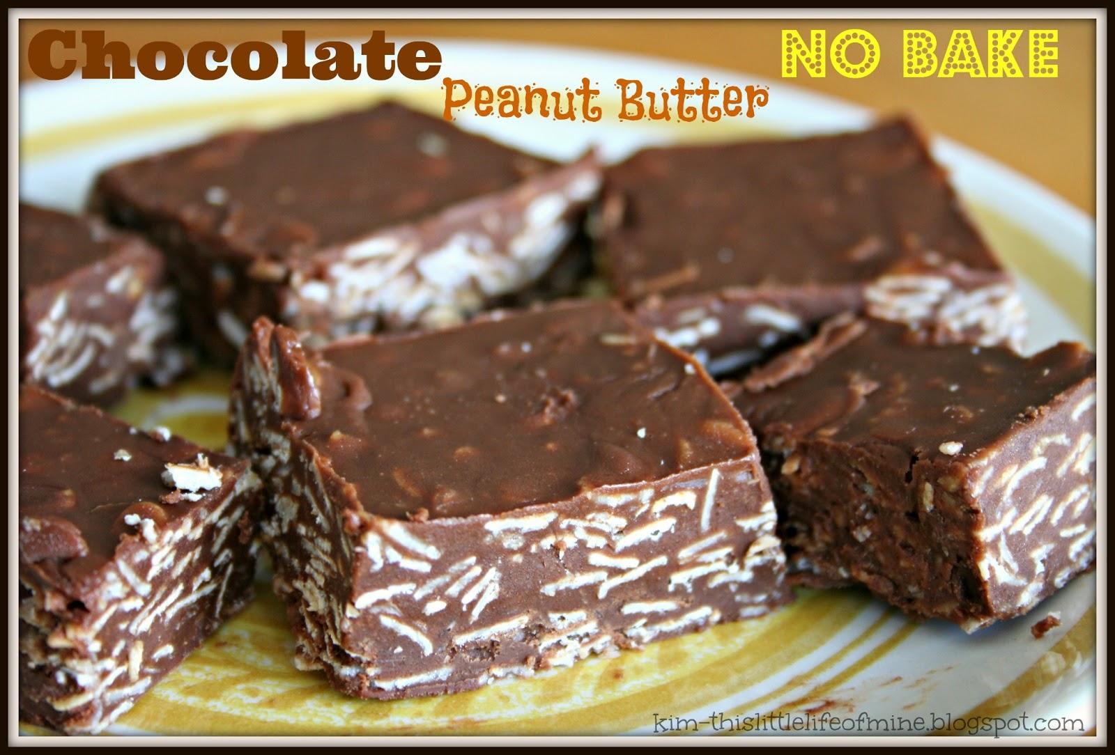 Makin' it Mo' Betta: Chocolate Peanut Butter No Bake Bars