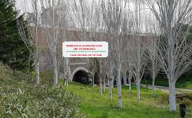 El Canal Bajo en peligro. ¡Salvemos el acueducto de Valdeacederas!