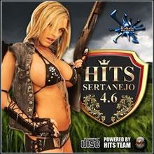 capa CD - CD Hits Sertanejo 4.6 - VA