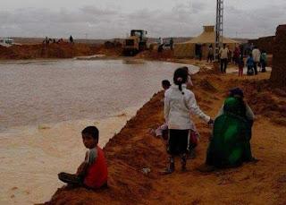Des pluies diluviennes laissent des dégâts matériels considérables à la wilaya de Dakhla