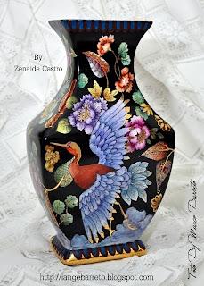 Porcelana pintada by Zenaide Castro