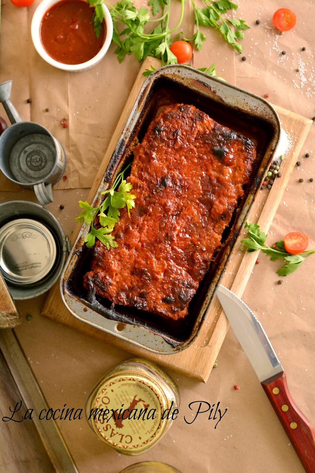 09/24/14--16:13: Pastel de Carne al Chipotle - Chipotle Meatloaf