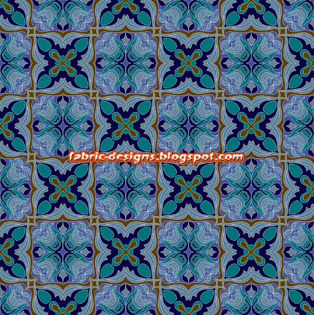 Geometric designs for fabric painting fabric textile for Geometric paint designs