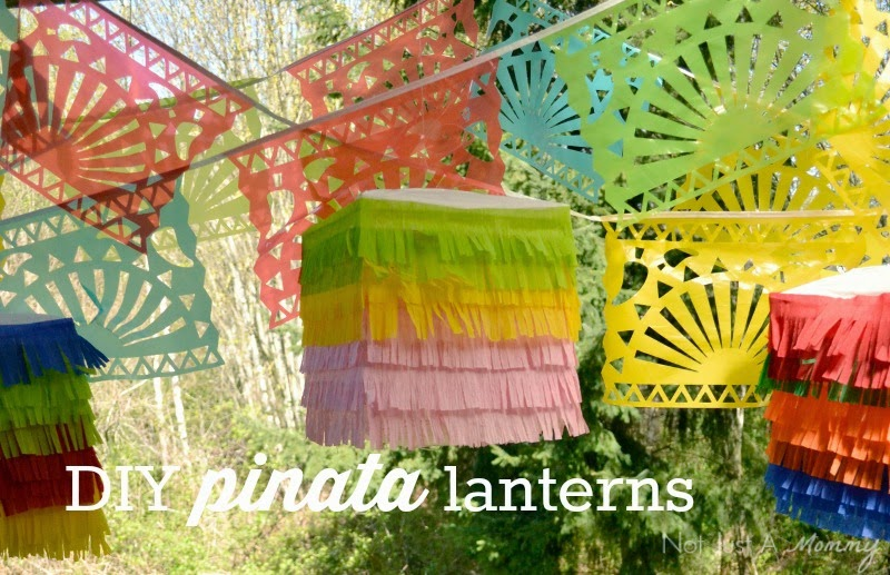 Cinco de Mayo DIY pinata lanterns