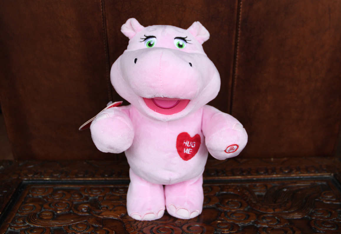 Hallmark Hug-Lovin' Hippo Techno Plush - Diana #LoveHallmarkCA