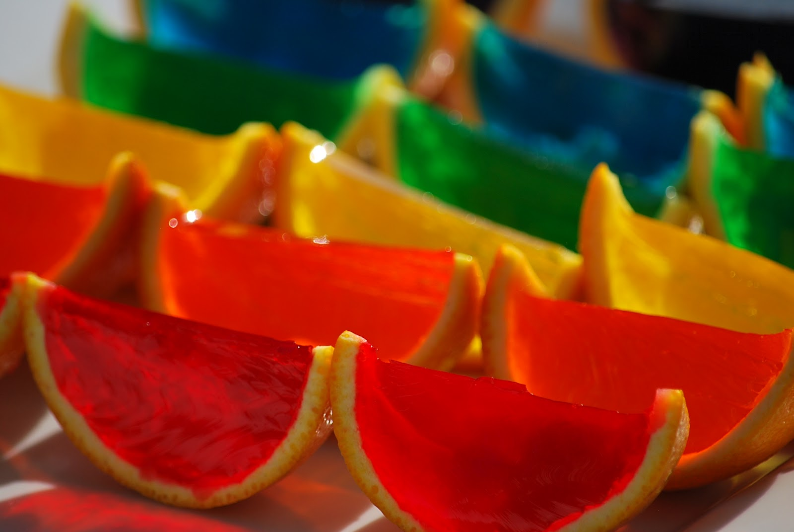 rainbow gelatin orange wedges it s all about the k s rainbow gelatin ...