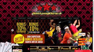 Bintangdewa.com Agen Judi bola, Taruhan Bola, SBOBET, Togel Online Indonesia Terpercaya