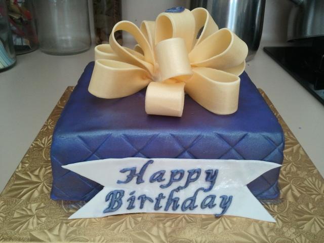 Caked 50th Birthday Cake