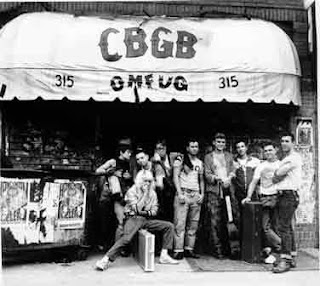 CBGB's legendary punk venue