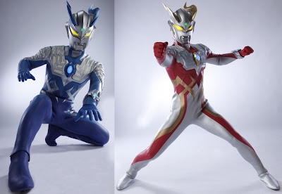 Ultraman Zero New Forms